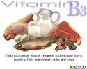 Vitamin B3 source